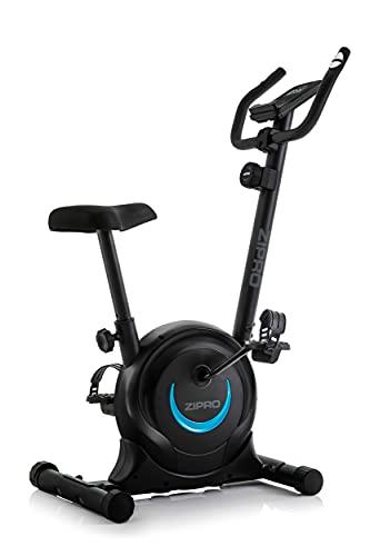 ZIPRO Bicicleta estática para Casa ONE S, entrenador eliptico, LCD Pantalla, sensores de pulso, ajuste de resistencia, 110kg