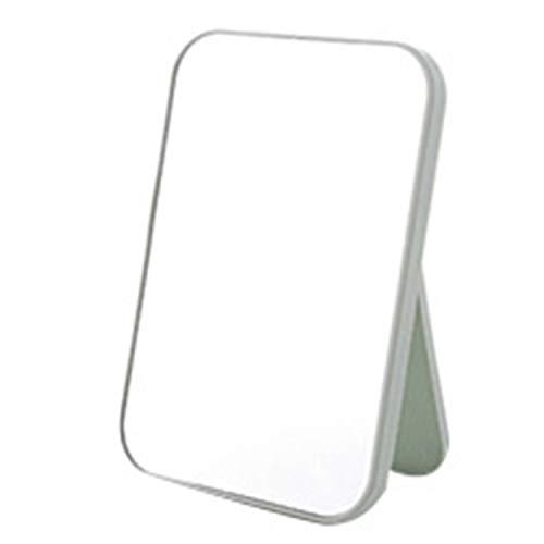 Lorenlli Einseitiger Schminkspiegel Desktop Großer Kosmetikspiegel Tragbarer Spiegel Desktop Spiegel HD Mädchen Schlafzimmer Buntes Dressing