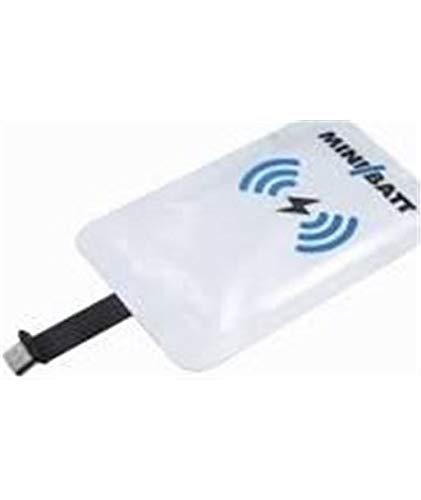 Minibatt Tarjeta receptora conexión USB Tipo B Qi Wireless Charge para adaptar el Smartphone a la Carga inalámbrica