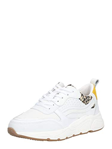 PS Poelman Damen Sneaker Low 5614 weiß 42