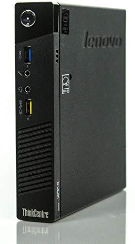 Lenovo ThinkCentre M93p USDT Tiny Quad Core i5-4590T 8GB 256GB SSD Win 10 Pro WiFi Mini PC (Ricondizionato)