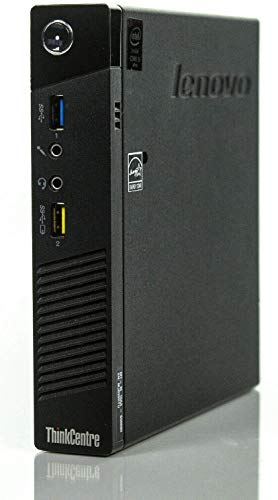 Lenovo ThinkCentre M93p Tiny USFF Desktop PC - Quad Core i5-4590T 8GB 256GB...