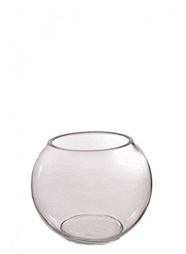 Homestreet - Vaso per pesci in vetro trasparente per uso domestico, per tavolo di matrimonio, in diverse misure 15