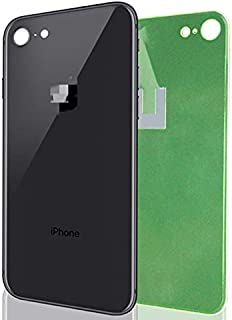 Apple iPhone 8 Replacement Back Glass Cover Back Battery Door w/Pre-Installed Adhesive,Best Version Apple iPhone 8 All Mod...