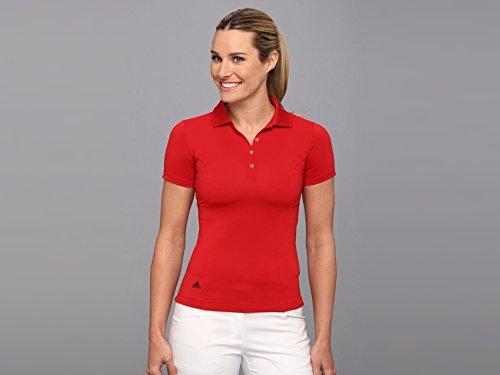 adidas Golf Women's Puremotion Solid Jersey Polo Shirt