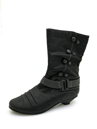 Depeche Stiefel 4494 schwarz antik-38