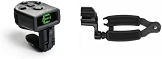 D'Addario NS Micro Clip-On Tuner & Planet Waves Pro Winder String Winder and Cutter Bundle