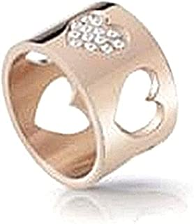 GUESS Women Stainless less stainless stainless stainless stainless stainless Zircon Gemstone Wedding bands Size 6