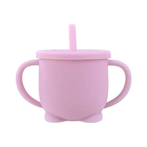 Tazas Personalizadas Taza De Alimentación Para Bebés, Dispositivo Para Beber Para Bebés Que Aprende A Bebés, Taza Con Pajita De Silicona, Taza Con Pajita De Silicona A Prueba De Fugas Para Niños En E