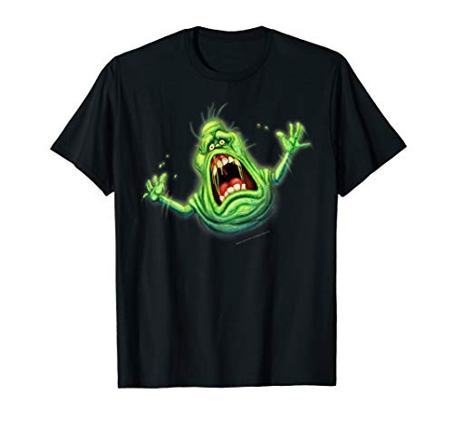 Screaming Slimer T-shirt for Adults or Kids, ideal for Halloween