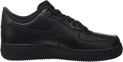 Nike Wmns Air Force 1 07 - Zapatos Mujer, Negro (Black / Black), 38 EU