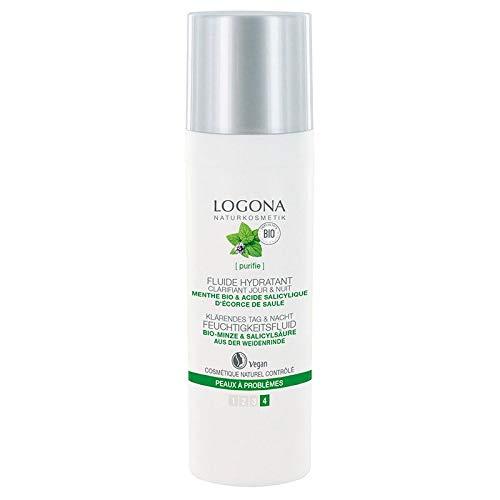 LOGONA - Fluido hidratante clarificante menta 30 ml orgánico