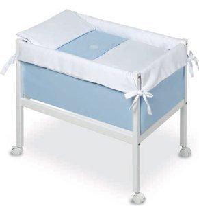 Bimbi Elite – Bébé, 61 x 90 x 80 cm, couleur blanc et bleu