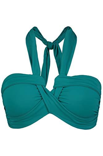 Studio Untold Damen große Größen Bikini-Top blassblau 50 750467 92-50