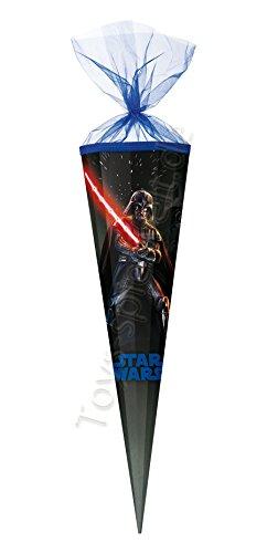 Nestler Schultüte Star Wars 2016 Classic Zuckertüte Einschulung Schule Kinder: Größe: 100 cm 12-eckig