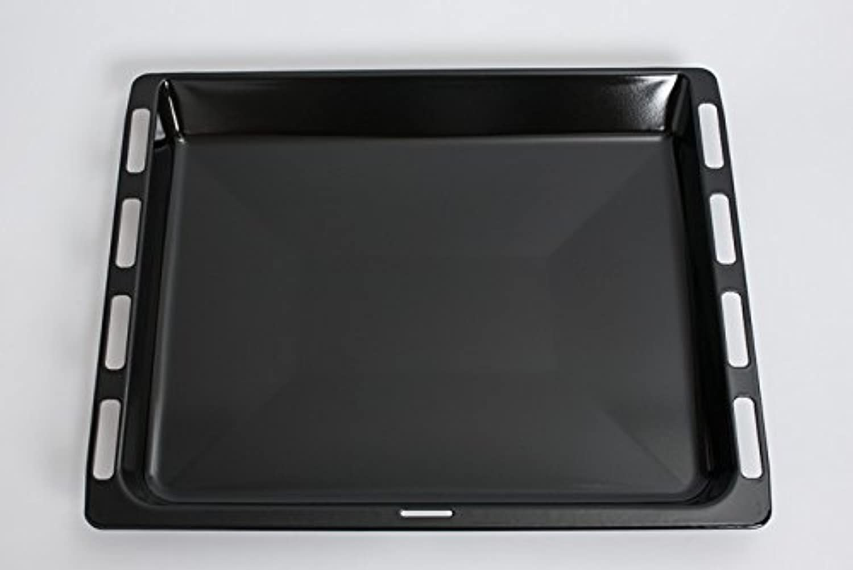 Daniplus© Fettpfanne, Fettpfanne, Fettpfanne, Backblech emailliert 46,5 x 37,5 cm passend für Bosch Siemens Backofen - Nr.  675876 B00Y4QB9E2 04cd05