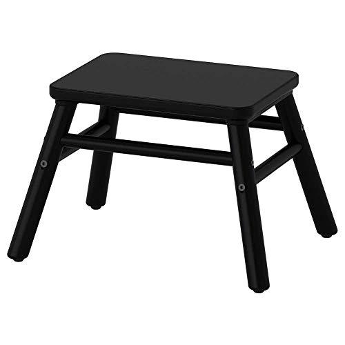IKEA Asie Vilto Marchepied, Noir