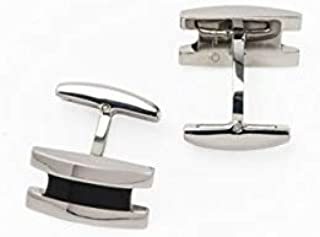 PAREJO CLV-0105 STAINLESS CUFFLINK FOR MEN