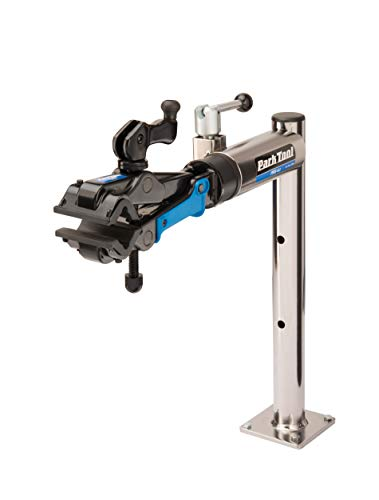 Park Tool PRS422 Bench Mount Bicycle Repair Stand with MicroAdjust Clamp