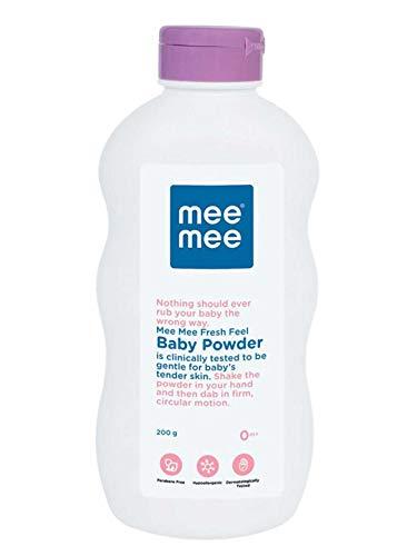 Mee Mee Baby Powder (Fresh Feel - 200 g (Single Pack))