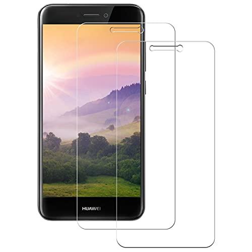 WISMURHI Cristal Templado para Huawei P8 Lite 2017, [2 Pack] Vidrio Templado...