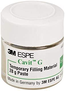 3M 44313 Cavit Temporary Filling Material Refill, 28 g Jar, Grey