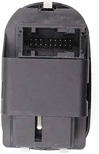 ACYCY Interruptor de ventana de coche eléctrico negro 6554.Wa, para Peugeot 206 206 Cc 206Sw 306 206 Sedan 2007-2016