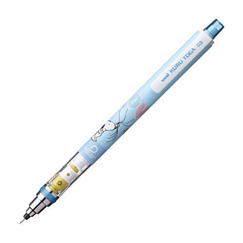 Mitsubishi Pencil Co, Ltd. Snoopy sharp pen Uni Kurutoga standard model 0.3mm Light Blue