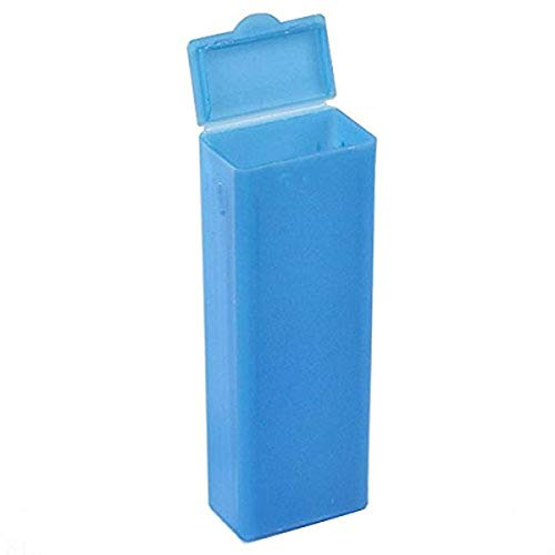 Globe Scientific 513061B Polypropylene Flip Top Slide Mailer for 5 Slide, Blue (Box of 100)