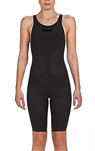 ARENA Powerskin Damen Schwimmanzug Carbon Air Closed Back Racing, Black/Black, 30