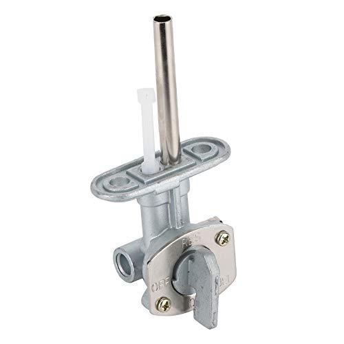Interruptor de combustible de la válvula de encendido y apagado para YAMAHA Interruptor de combustible del grifo del tanque de combustible duradero Estable para usar Evita la volatilización