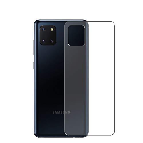 Vaxson 2 Unidades Protector de pantalla Posterior, compatible con SAMSUNG Galaxy Note 10 Lite [No Vidrio Templado] TPU Película Protectora Espalda