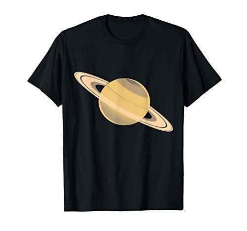 Erstaunlicher Planet Saturn Sonnensystem Astronomie T-Shirt