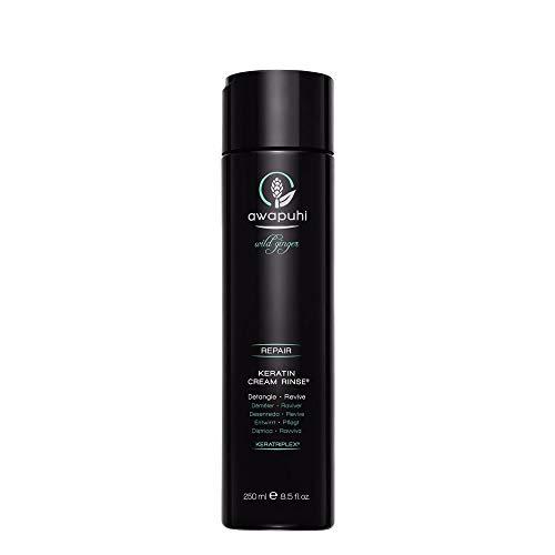 Paul Mitchell Awapuhi Wild Ginger Keratin Cream Rinse - Haar-Conditioner für trockenes, strapaziertes Haar, tägliche Haarpflege in Salon-Qualität, 250 ml