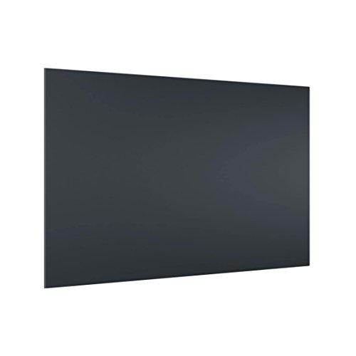 Bilderwelten 40 x 60 cm Glas Spritzschutz Grau Küchenrückwand Spritzwand