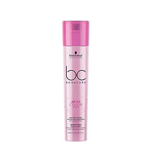 Schwarzkopf Professional BC ph 4.5 Farbfrost Shampoo ohne Micellarsulfat, 250 ml