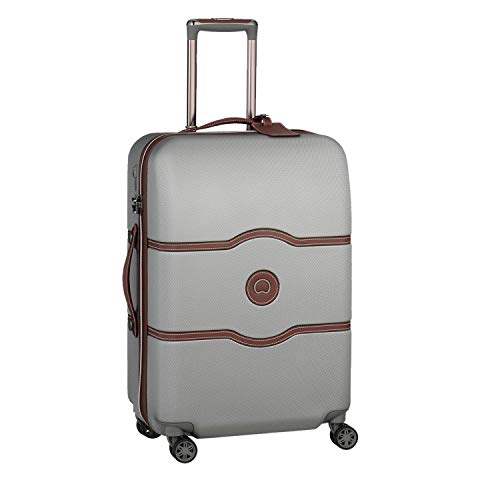 DELSEY Paris Chatelet Air Maleta, 69 cm, 72 Liters, Gris (Argent)