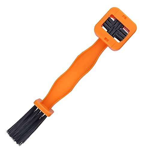 LotCow - Spazzola per la pulizia della catena della bicicletta o della moto, spazzola per la pulizia...
