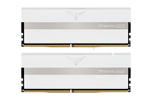 Team ARGB WHITE(発光型) DDR4 3600Mhz(PC4-28800) 8GBx2枚(16GBkit) XTREEMシリーズ デスクトップ用メモリ ハイスピードタイプ 日本国内無期限保証