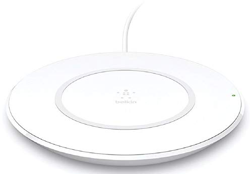 Belkin Boost Up Wireless Charging Pad 7.5W – Wireless Charger Optimized for iPhone, Compatible with Any Qi-Enabled Device from Samsung, LG and More