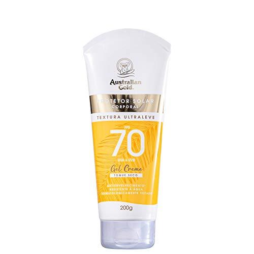Australian Gold Gel Creme FPS 70 - Protetor Solar 200g