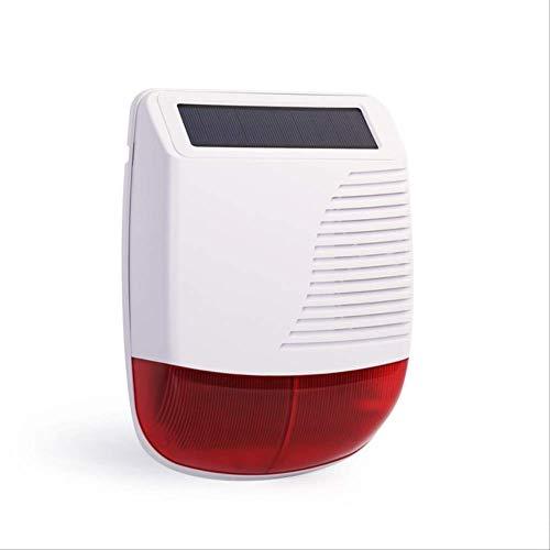 Video Doorbell Alarma De Seguridad con La Aplicación Smart Tuya Teclado Táctil Amazon Alexa Google Home Control De Voz Monitoreo De Cámara IP Sirena estroboscópica Solar