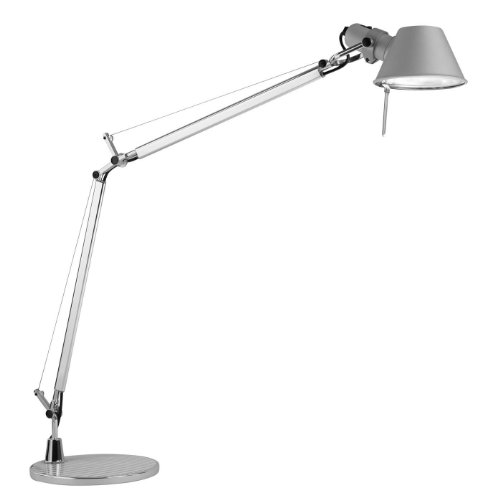 Artemide Tolomeo Lampada da tavolo in alluminio standard Base/tarea luce
