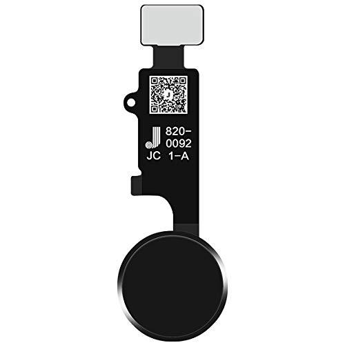 JC Home Button V4 Final Edition (no versión Bluetooth), color negro para iPhone 7 7P 8 8P