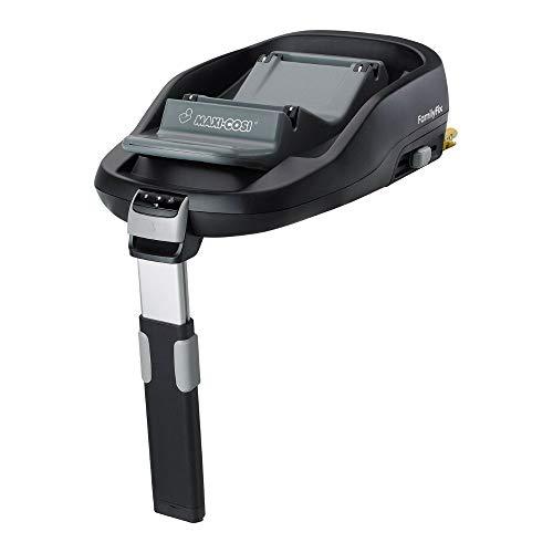 Maxi-Cosi FamilyFix, Base ISOFIX grupo 0+/1 (0-18 kg), Adecuada para las silla de coche Maxi-Cosi CabrioFix, Pebble y la silla de coche del grupo 1 Maxi-Cosi Pearl, De 0 meses a 4 años, Negro
