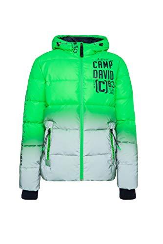 Camp David Herren Reflektor-Jacke mit Farbverlauf