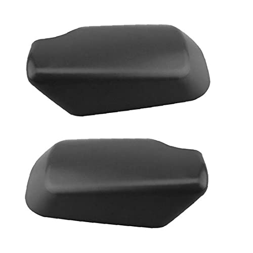 Auto Rückspiegelkappe Rückspiegel Abdeckung Verkleidung Kompatibel Mit B-mw E46 Schwarz 1 Paar