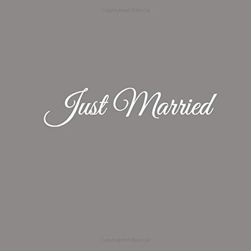 Just Married: Libro degli ospiti Just Married Guest book per