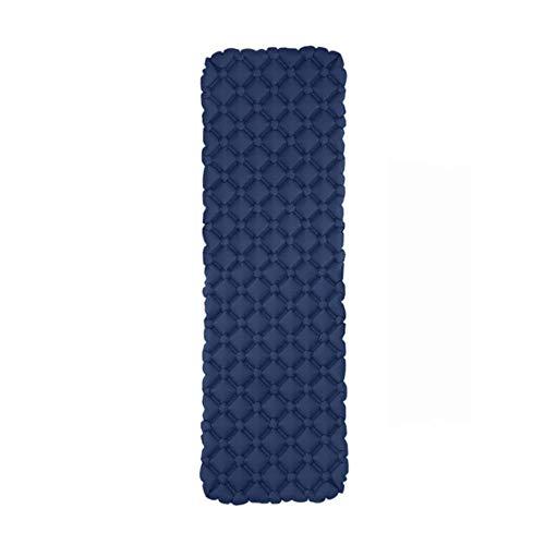 Colchón inflable al aire libre de diamante ultraligero de camping esterilla de senderismo cojín de aire portátil colchoneta de dormir a prueba de humedad impermeable almohadilla