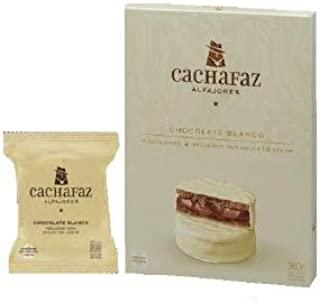 Cachafaz - Alfajor Blanco x 6